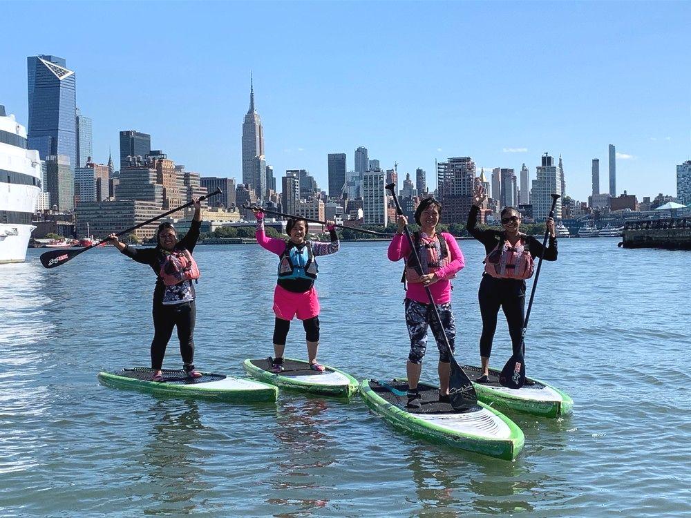 Fulbright NY Paddleboarding