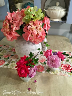 flowers on table