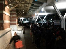 The line at Marunouchi North exit