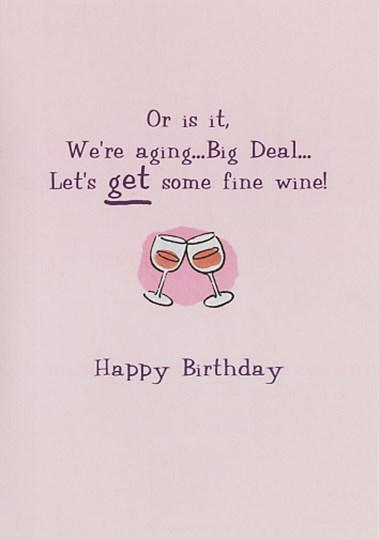 Happy Birthday Funny Wine : happy, birthday, funny, Birthday, Funny, Greeting, FulcrumGallery.com