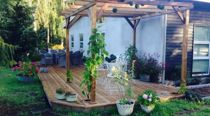 Nye terrasser