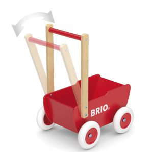 31370 Wooden Doll Pram HR
