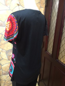 525 101黒Tシャツ 後