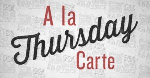 A La Carte (February 1)