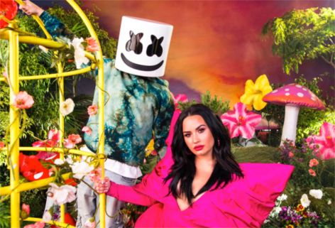 Marshmello Demi Lovato OK Not To Be OK