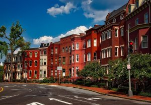 Washington row houses picture