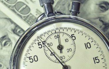 Money stopwatch picture