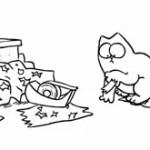 Animatie: Simon's Cat in 'Sticky Tape'