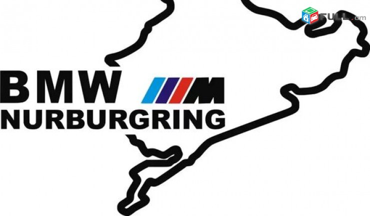 BMW nakleyka M Nurburgring BMW Qartez bmw tip bmw sticker