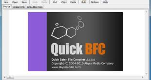AbyssMedia Quick Batch File Compiler
