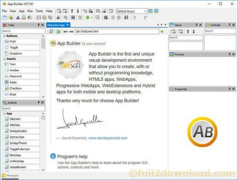 Download App Builder 2017.81