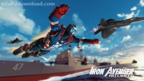 Iron Avenger 2 No Limits mod apk