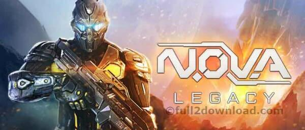 NOVA Legacy 4.1.5 Download Android Game Noodle Legacy Action + Mod