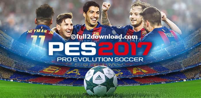 PES 2017 Pro Evolution Soccer v1.2.2 Android Game + Data Files