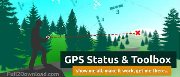 GPS Status & Toolbox Pro 8.0.170 [Full] - Android Gadget Toolbar and Status
