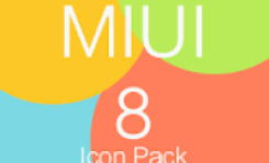 MIUI 8 Icon Pack v2.0 APK [Patched]