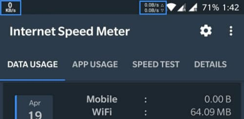 Internet Speed Meter ad-free