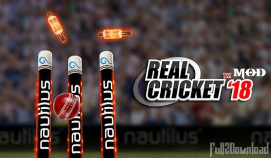 Real Cricket 2018 MOD APK