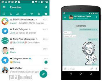 DownloadPlus Messenger Telegram APK + Themes