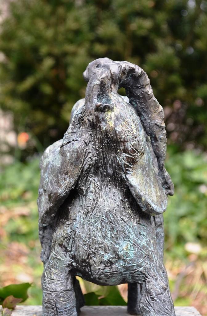 Elephant Sculpture at Saint John the Divine Church in Manhattan