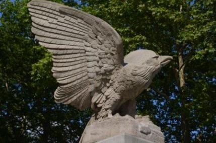 Grants Tomb Eagle Sculpture