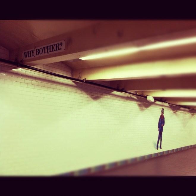 NYC Subway Walkway