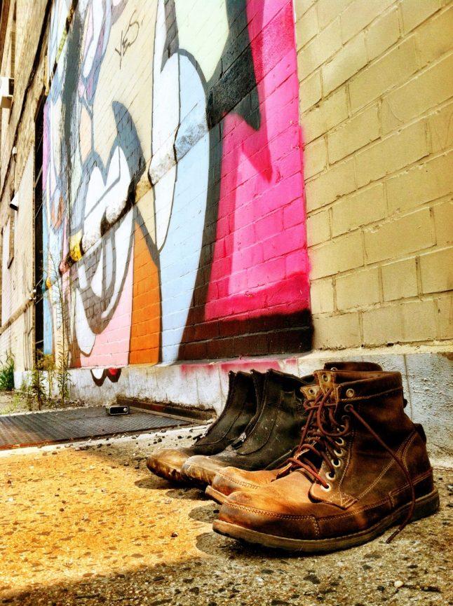 Boots in Brooklyn