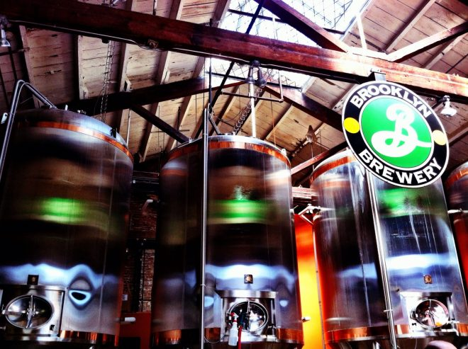 Brooklyn Brewery in Williamsburg Brooklyn