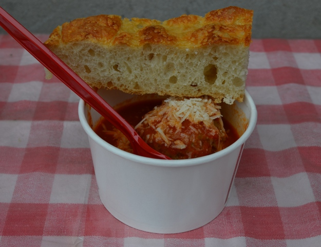 Meatball cup