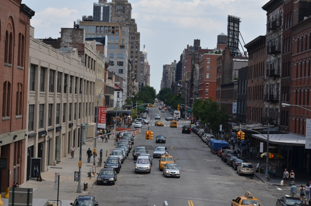 Photo Looking Across 14th Street in NYC