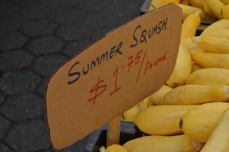 Summer Squash Sign