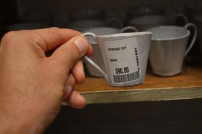 $90 Espresso Cup
