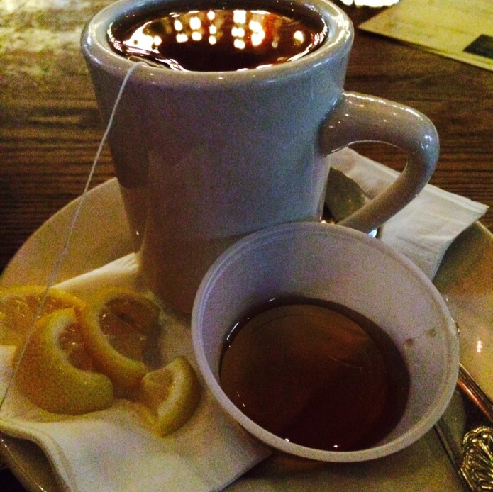 Deconstructed Hot Toddy