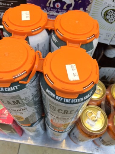 Expensive Beer in New York Grocery Store