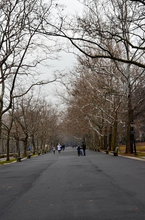 Walkway in Riverside Park