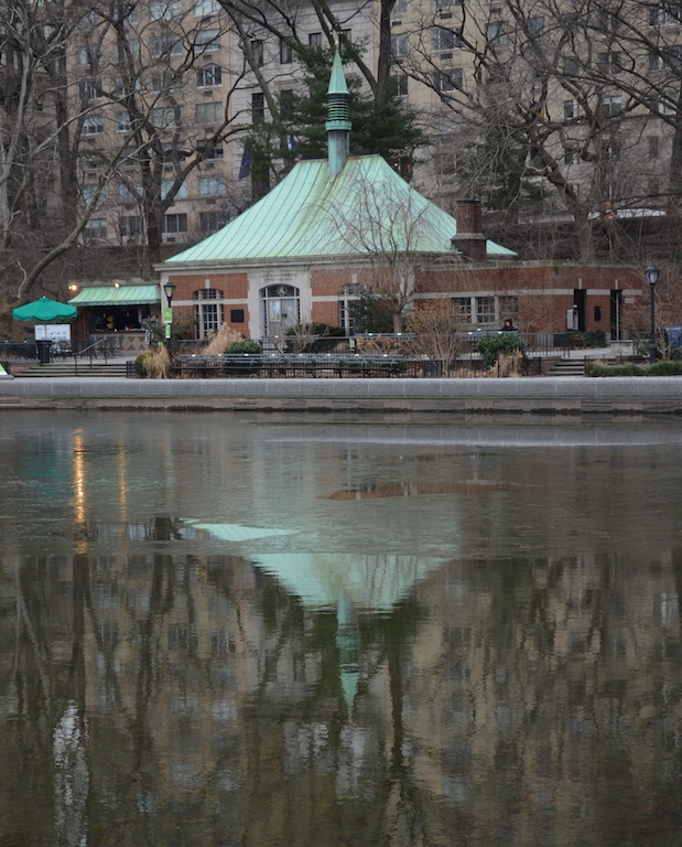 Boat House in Central Park