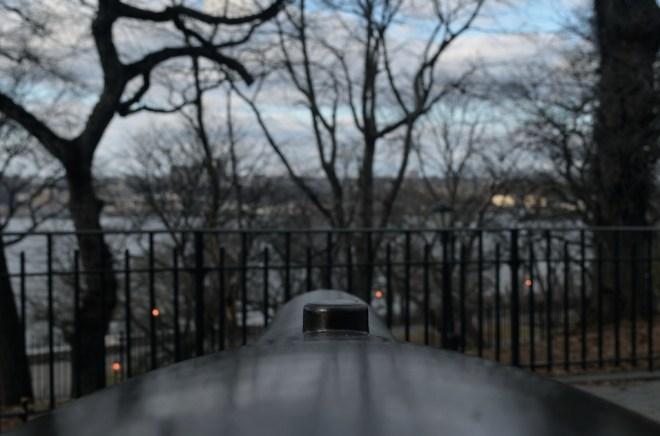 Cannon Facing Hudson