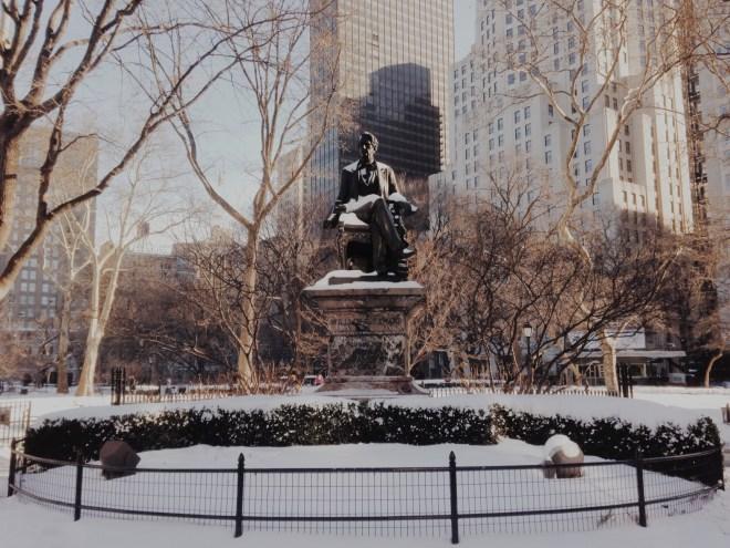 Snow Statue