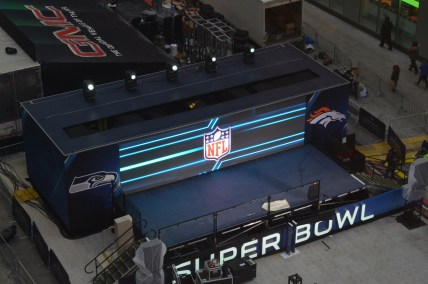NFL Super Bowl 48 Stage