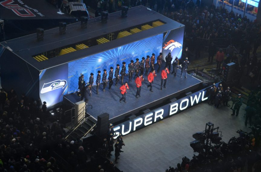Rockettes Finale Super Bowl