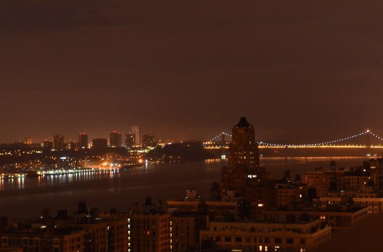 Hudson River at Night