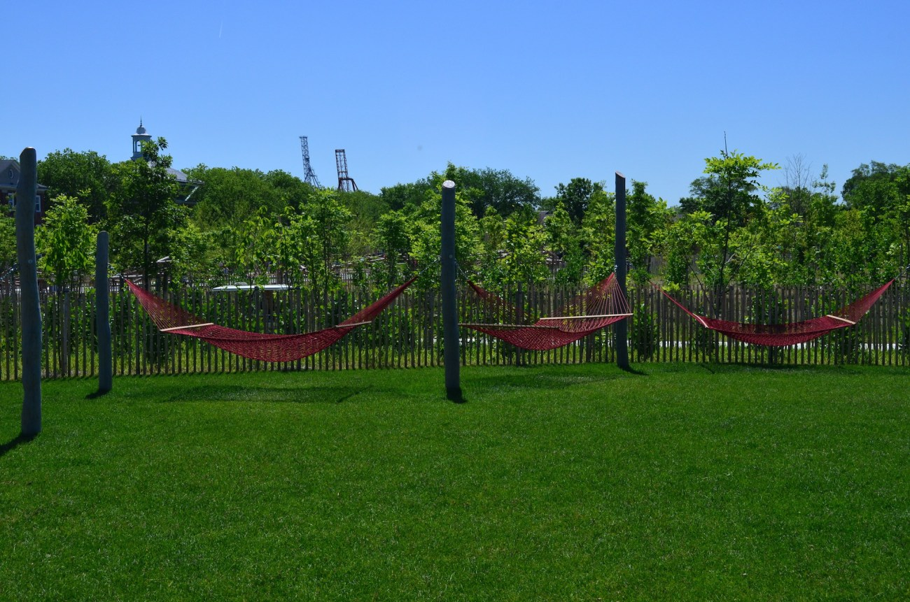 Hammock Garden On Governors Island
