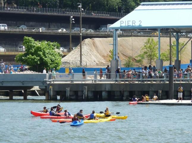 New York Harbor Kayaking