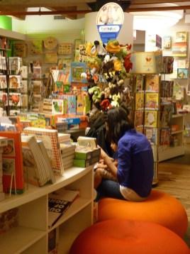 Posman Books Inside