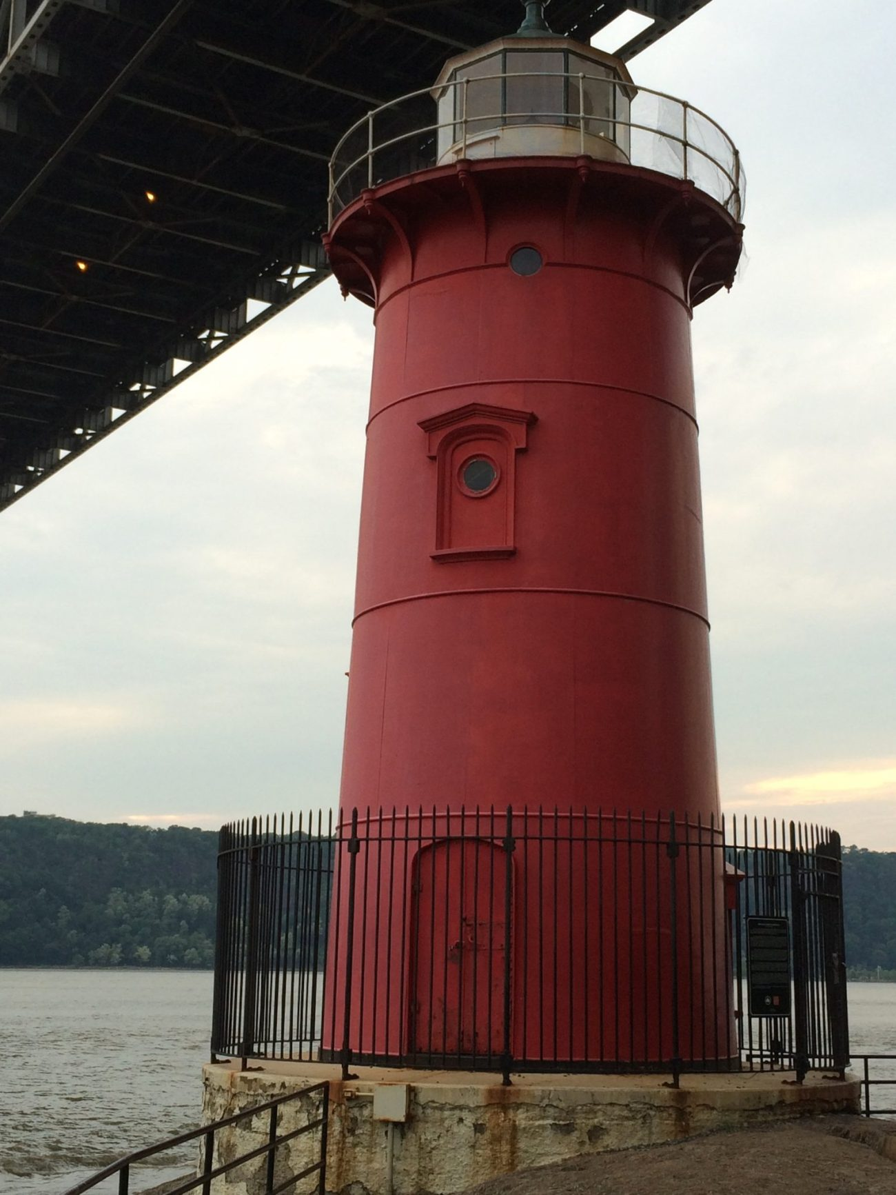 The Little Red Lighthouse On The Hudson River