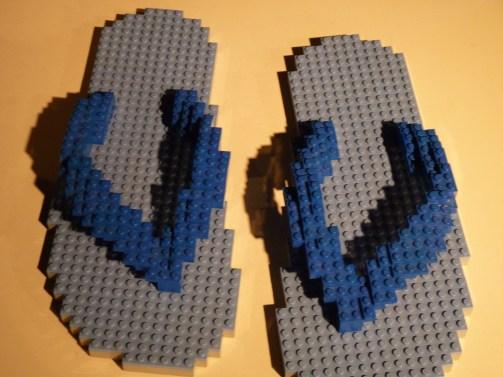 Flip Flops Nathan Sawaya