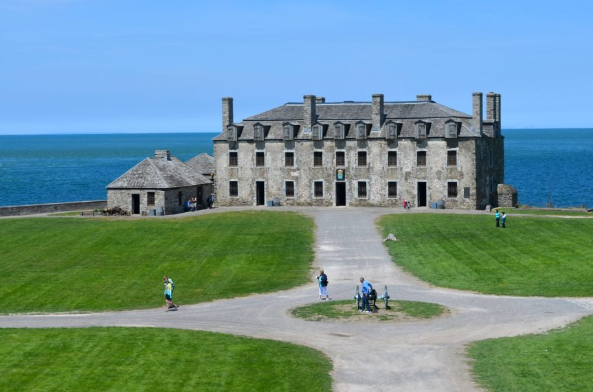 Fort Niagara on the Niagara River