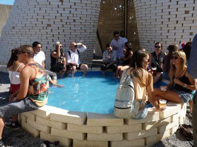 pool at MoMA PS1