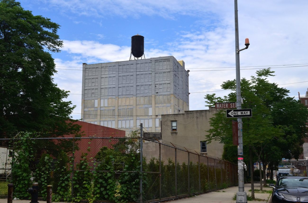 Watertower In Vinegar Hill Brooklyn