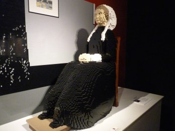 Whistler by Nathan Sawaya at The Legos Times Square Exhibit